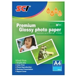 Fotopapír SCI A4 lesklý 180g/m2 20ks