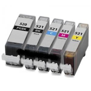 Canon PGI-520 + CLI-521 multipack 5ks - kompatibilní