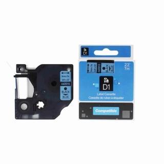Kompatibilní páska Dymo 40916, S0720710, 9mm x 7m černý tisk / modrý podklad