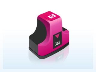 HP C8772EE- HP 363 magenta - kompatibilní
