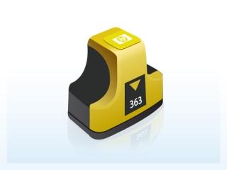 HP C8773EE - HP 363 yellow - kompatibilní