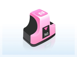 HP C8775EE - HP 363 light magenta - kompatibilní
