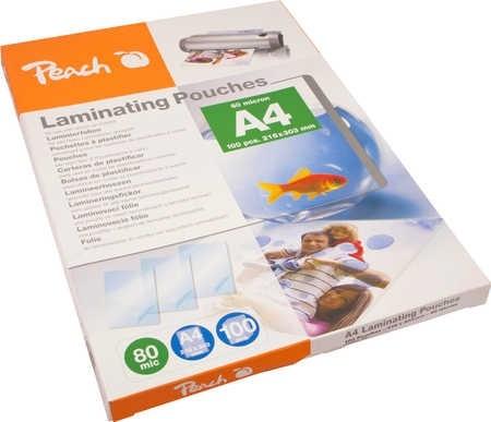 Peach PP580-02 laminovací fólie A4 80mic - 100ks
