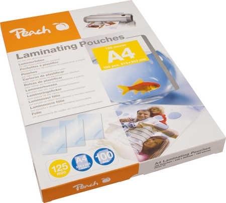 Peach PP525-02 laminovací fólie A4 125mic - 100ks