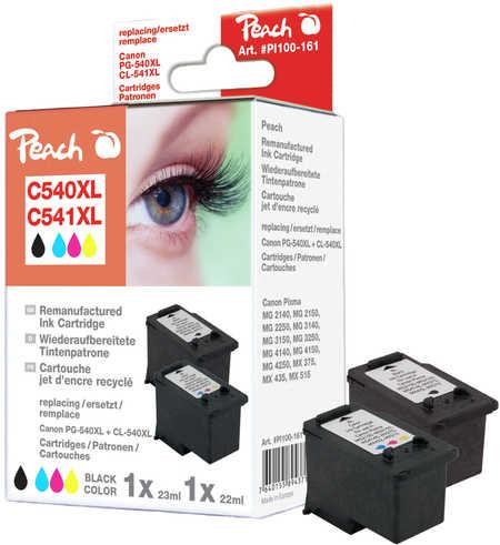 Peach PI100-161 CombiPack Canon PG-540XL 23ml + CL-541XL 22ml