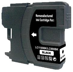Brother LC-1100BK / LC-980BK kompatibilní cartridge