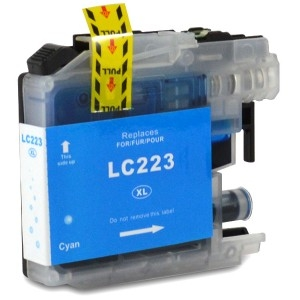 Brother LC-223C kompatibilní cartridge
