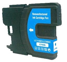 Brother LC-1100C / LC-980C kompatibilní cartridge