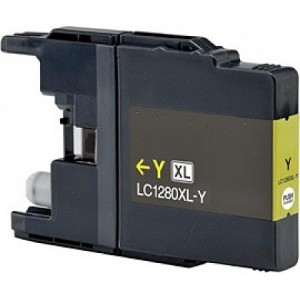 Brother LC-1280Y XL kompatibilní cartridge